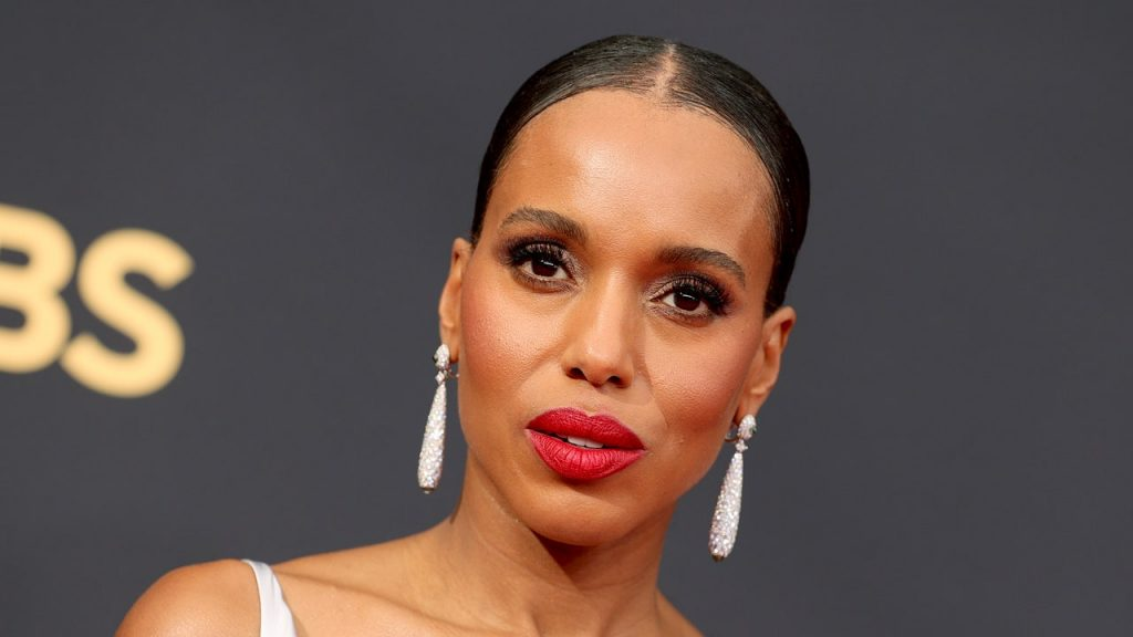 Kerry Washington Adorned Her New Box Braids and Bangs With Beads and Cuffs — See Photos